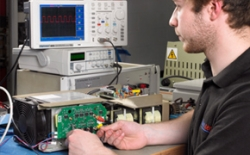 Rapid turn-round for repair to amplifier power modules and sub-assemblies